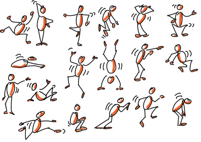 Sketchnotes für ausdrucksstärkere Haltungen