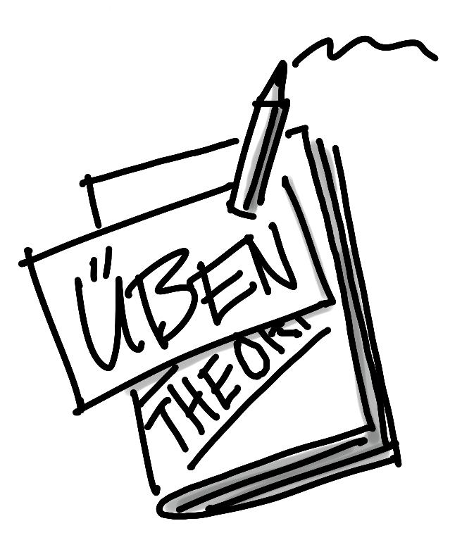 Schlüsselbild: Üben ist wichtiger als Theorie